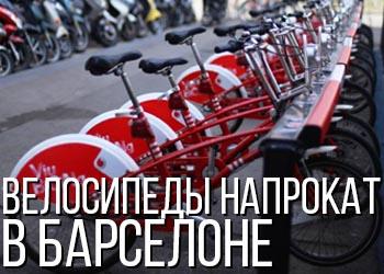 Где взять велосипед напрокат в Барселоне